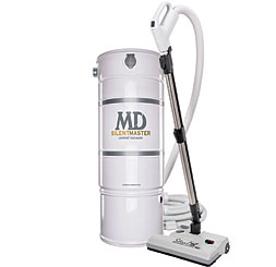 M.D. Vacuum Unit with the Stealth power brush