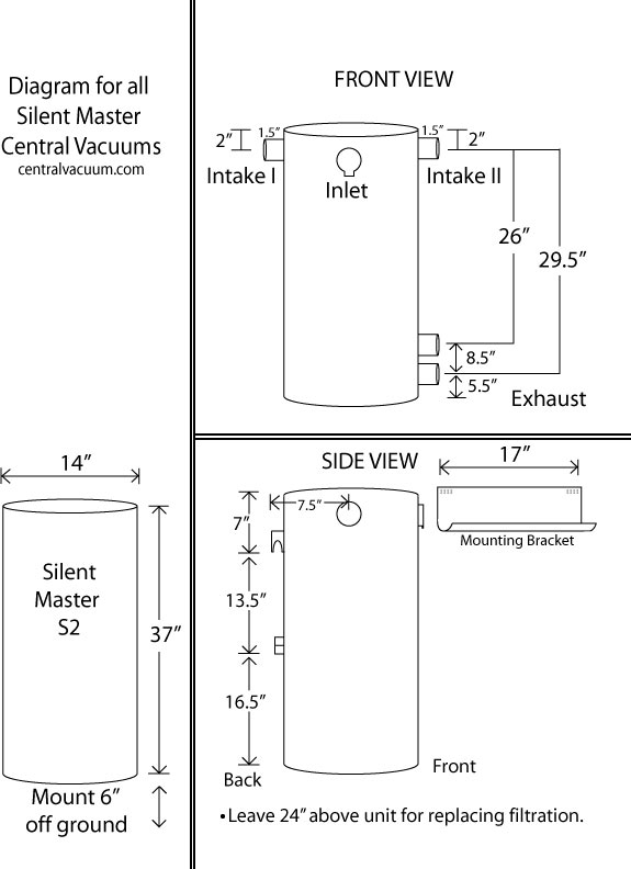 silent_master central vacuum diagram md central vacuum power unit mounting instructions central vacuum wiring diagram at alyssarenee.co
