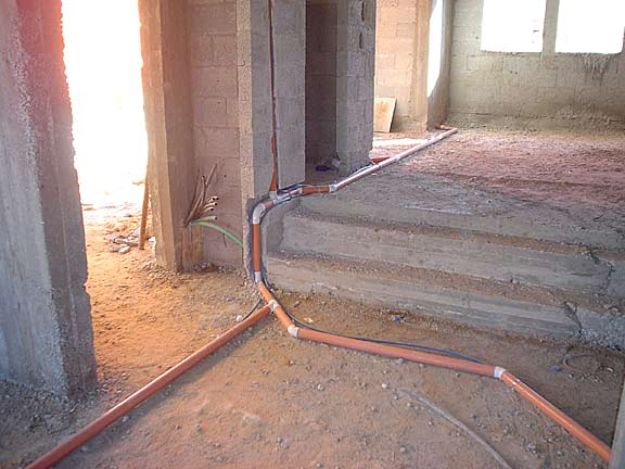 md central vacuum installation in concrete homes rh builtinvacuum com House Wiring For Dummies Typical House Wiring Circuits