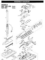 hayden vacuum diagram and hayden hose handle assembly