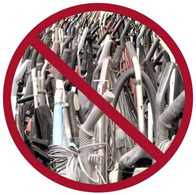 Say No Portable Vacuums