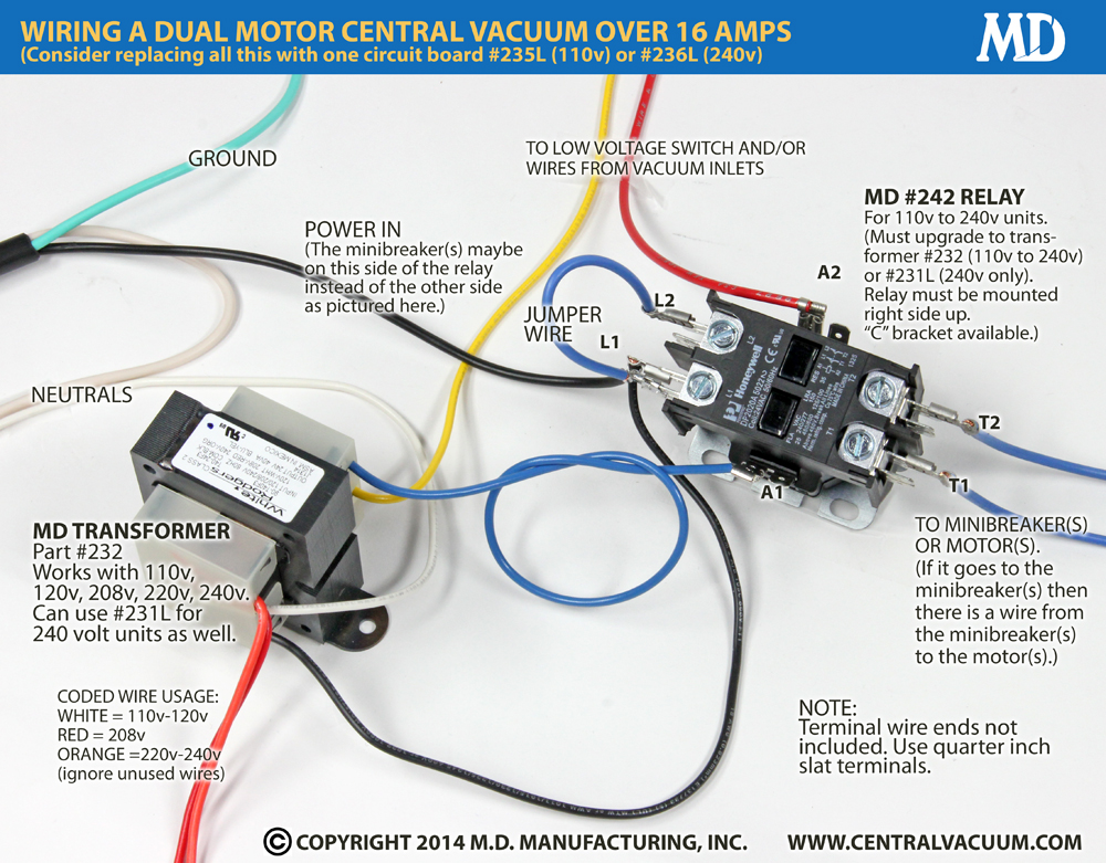 240 Volt Relay Wiring Diagram