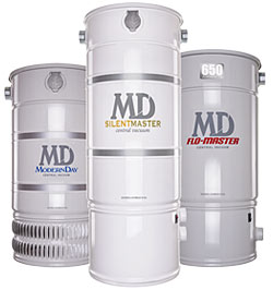 MD Central Vacuum Units