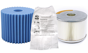 Central Vacuum Bags and Filters