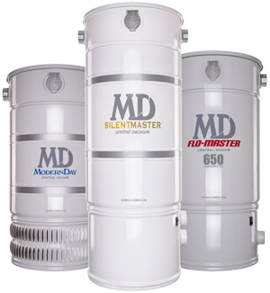 Central Vacuum Units from MD Central Vacuum