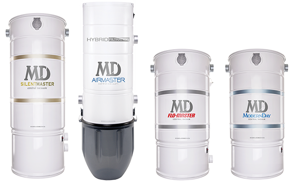 MD Manufacturing's Central Vacuum Units