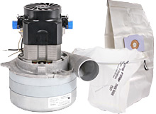Central Vac Replacement Motors and Electrical Parts for Nutone