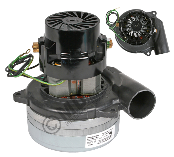 Lamb 119956 motor for vacuums and blowers sales parts troubleshooting for beam Lamb vacuum motor parts
