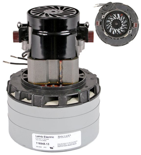 Lamb 116945 motor for vacuums and blowers sales parts troubleshooting for silent master Lamb vacuum motor parts