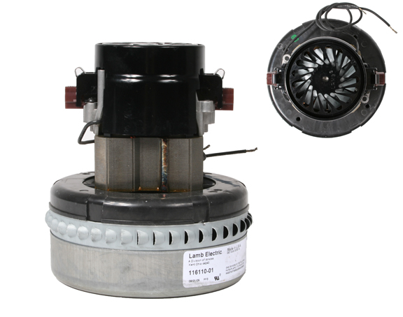 116110 Motor for Vacuums and Blowers