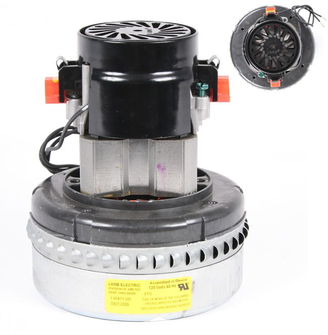 Lamb 116471 motor for vacuums and blowers sales parts troubleshooting Lamb vacuum motor parts