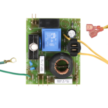 central vacuum circuit board relay transformer vacuum motor circuit board dual motor 18 amp 240v