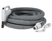 Central Vacuum Electric Hose with Cover