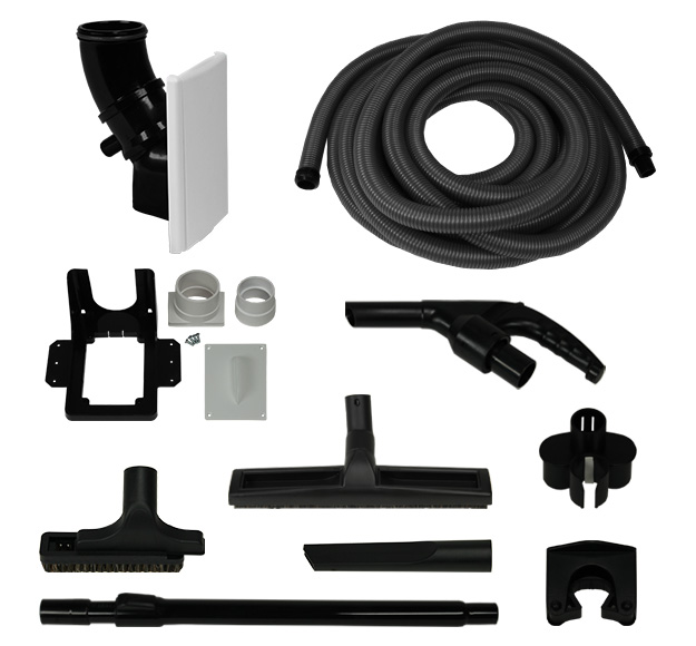 Mini Hide-A-Hose Valve with 40ft Garage Kit