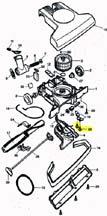 2 Screws for T-Latch TurboCat