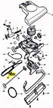 Lower Shroud, Belt, -TurboCat, TL2000, TP210, T210