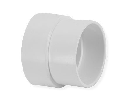 Pipe Adapter for 1.75 inch OD pipe to 2 inch Vac