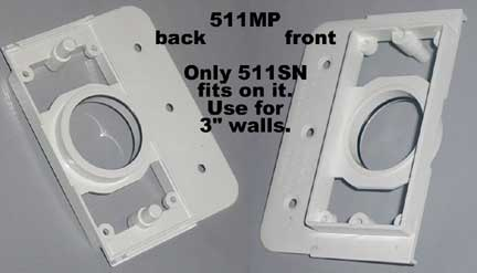 3in1 Mounting Bracket for 2x3in wall