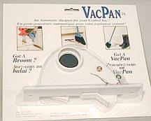 Central Vacuum Vac Pan, Toe Kick