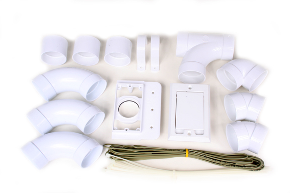 Install Kit with 1 Non-Electric Inlet