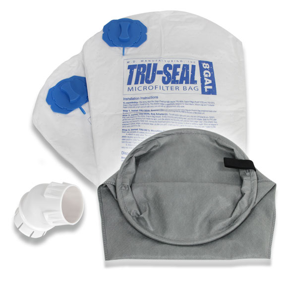 Tru Seal Microfilter Upgrade Kit Md Central Vacuum For