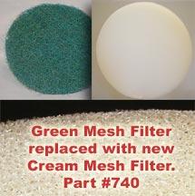 Mesh Filter: SilentMaster, MD, FloMaster